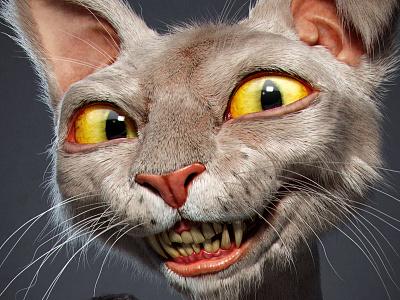 Quinta Feira 12 Cat cat 3d jose alves da silva character artist cartoon illustration animal mascot