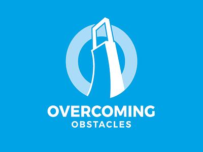 Overcoming Obstacles Branding speaking branding logo