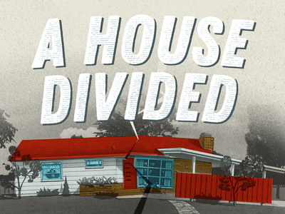 A House Divided Original Concept 1 corinthians sermon art sermon series church design church graphics church