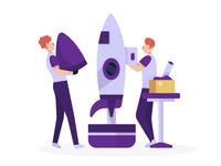 Build Rocket (Step 1)