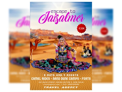 Jaisalmer Tourism Flyer