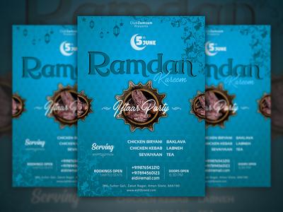 Ramdan flyer