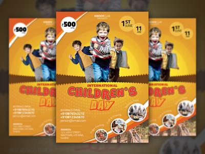 International Children's Day Flyer