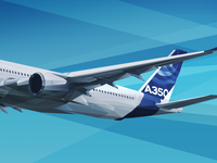 Airbus A350XWB - illustration
