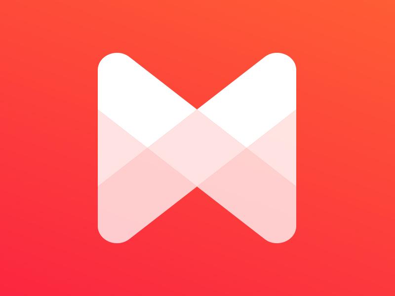 Musixmatch Rebrand logo branding design icon shape shades app ios android identity