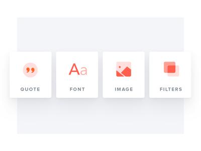 LyricsCard — Iconography