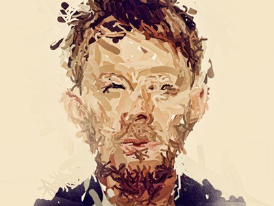 Thom Yorke thom yorke singer idol music radio head electronic rock experimental code lotus flower creep