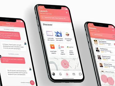 Hotfix Screen Design app ux ui