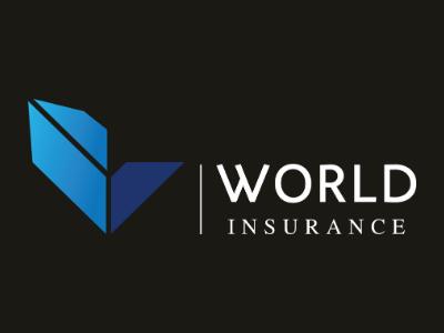 WIS LOGO - WHITE insurance insurance logo logo vector illustration branding design