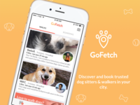 Gofetch App Store Screenshots 2016