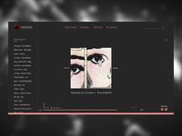 Music Player - DailyUI #009 (static)
