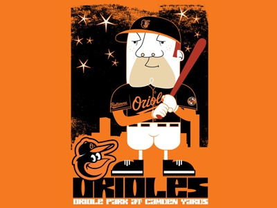 Orioles Illustration