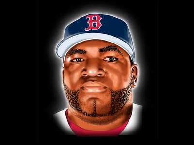 David Ortiz Illustration