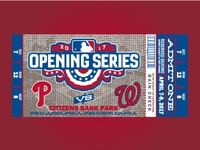 Phillies opening day ticket match-up