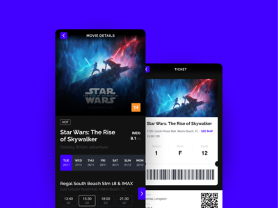 Cinema Ticket App