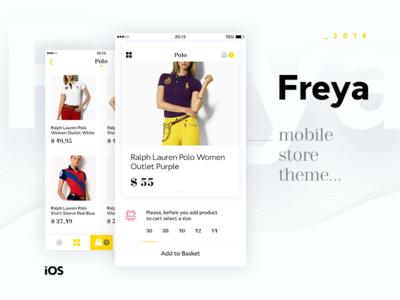 Freya App Concept