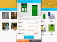Product Cart Screen