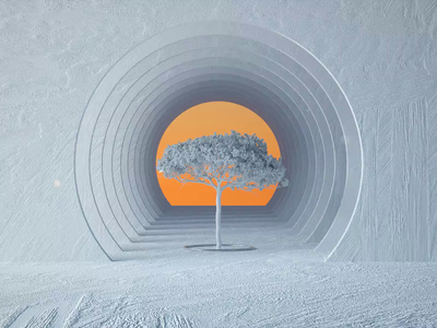 Tree. music otoy octane particles dust c4d motion design aftereffects cinema4d cinema ae vertigo zolly dolly tree branding graphic design motion graphics 3d animation