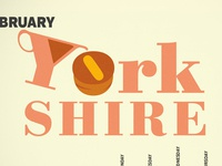 Self promo calendar project - Yorkshire pudding day