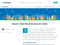 Tenable Blog Article Page