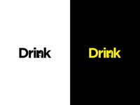 Drink Negative Space Logo
