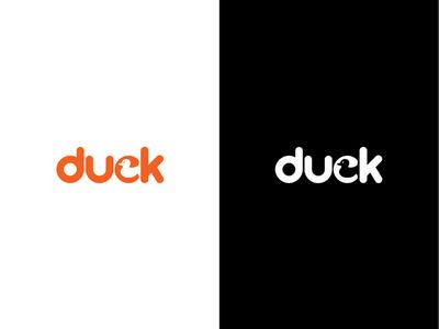 Duck Logo Negative Space