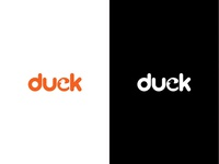 Duck Logo Negative Space
