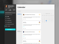 Webapp Calendar