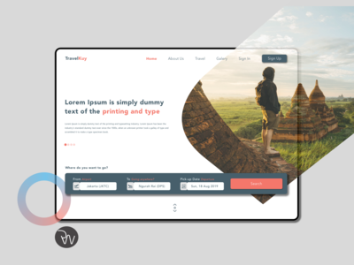 Online Flight Booking Design