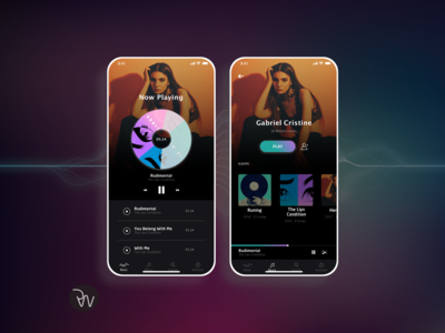 Music App Design (Sketch)