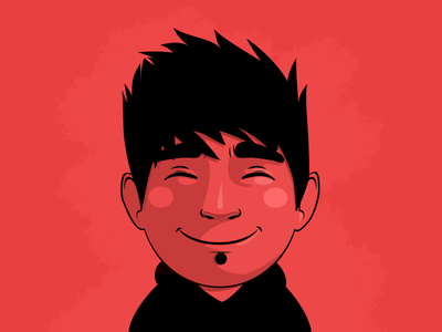 ManuToon illustration 19:00 toon manu icon vector identity samuel suarez 3622 avatar flat character 404