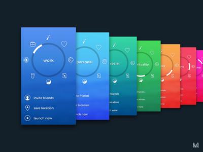 Peace Out  peaceout 4785 app colors navigation manu ios 1600