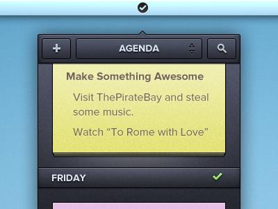 Menubar Agenda App agenda menubar app mac notes 22:30 2023 manu