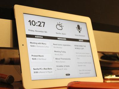 Daily iPad daily ipad assistant morning ui 14:00 2123 manu