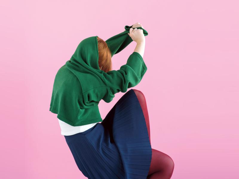 frankie magazine woolly shoot editorial fashion styling art direction
