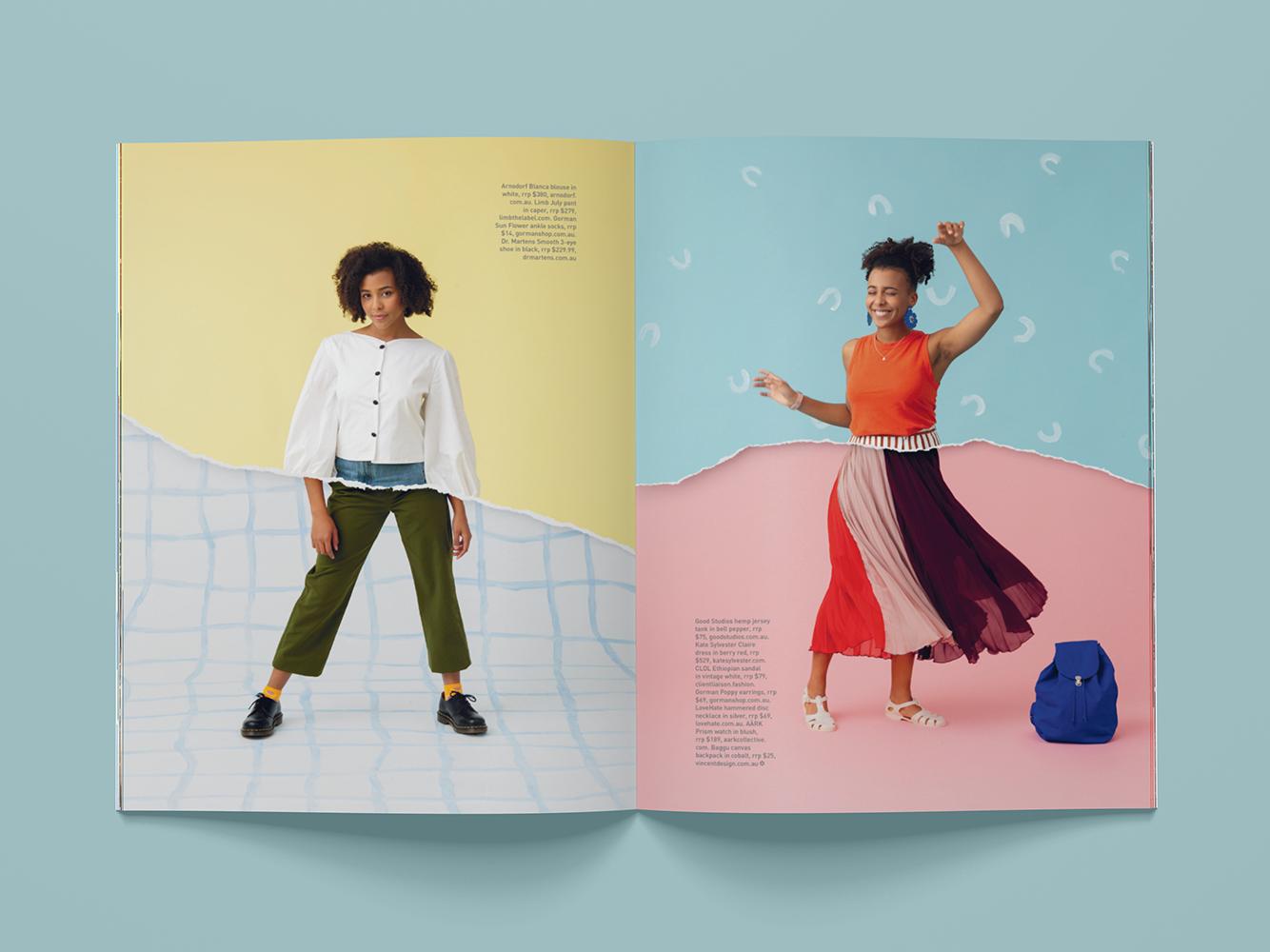 Frankie magazine ripper fashion editorial magazine fashion editorial styling art direction