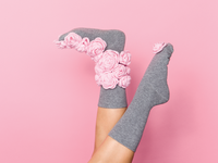 frankie magazine socks editorial