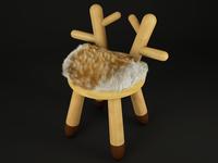 Bambi Chair 3d Render