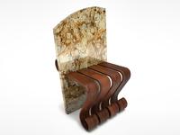 Modern Granite Chair Design
