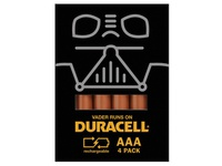 Darth Vader Duracell Promotional Package Design