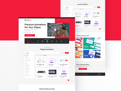 Bundle landing page branding hero popular color modern clean home dashboard interaction bu bundle landing page mobile interface web design ux ui