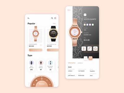 E-commerce App e-commerce ecommerce item bucket shop mobile interface app wapp ux ui