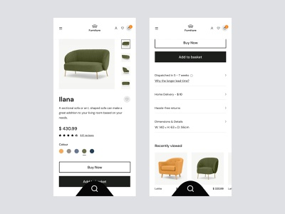 Ecommerce Product Details halal lab checkout details online shopping menu search ui interface business app cart page ecommerce app ecommerce online shop online store furniture app furniture store productdesign mobile