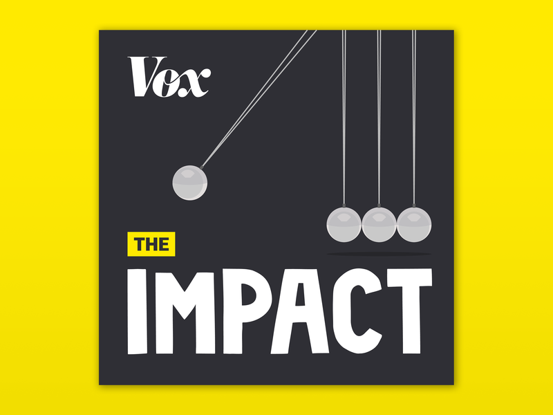 The Impact vox media album art album flat design flat illustration daily cover branding brand artwork art podcast