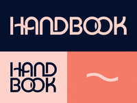 Curbed Handbook logo and color exploration