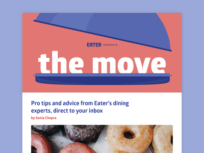 """""""The Move"""" - Served Up sandwich vector layout branding flat illustration vox media editorial food newsletter"""
