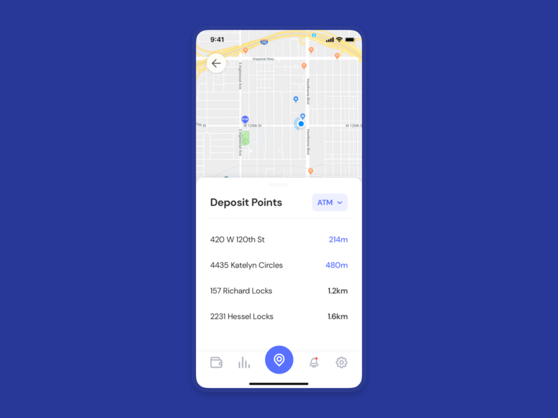 Banking App 🏦 fiiance application application app ui design design uiuxdesign ui