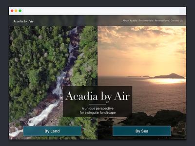 Daily Ui 003 - Landing Page video web landing page dailyui