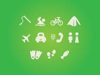 Summersville Wayfinder Icons