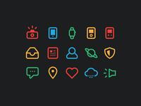 Stroke Icons
